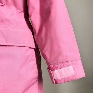 80's Pink and Plaid Insulated Parka Coat by L.L. Bean