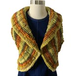 Crotchet Cropped Bohemian Sweater Vest Shrug