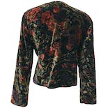another view of Dark Floral Print Jacketby Norton McNaughton