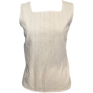 Detailed Cotton Tank by Christopher & Banks
