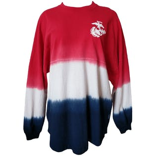 Dropped Shoulder Tie Dye Long Sleeveby Spirit Jersey