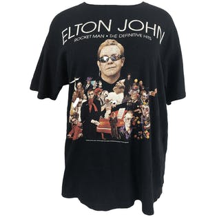 Elton John Tour Graphic T-Shirt by Anvil