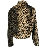 another view of 90's Fuzzy Leopard Print Jacket by Outbrook