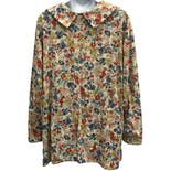 another view of 60's Floral Print Shirt
