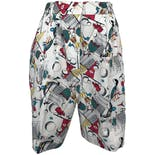 80's Deadstock Golf Print Shorts by Lady Lamode