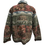 another view of Graphic Print Button Down Knit Jacket by Orvis