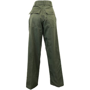 Green Military Utility Pants by Coastal Industries Inc.