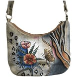 Handpainted Butterfly Purse