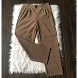 another view of 90's High Waisted Brown Pants by Lifestyle Classics