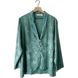 90's Sage Green Sleep Top by Victoria's Secret Gold Label
