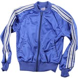 80's/90's Blue Zip Up Athletic Men's Jacket by Letrell