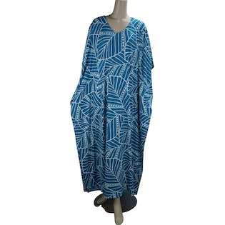 Teal Lounging Caftan by Joan Rivers