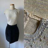 another view of 60's Sequin Tank