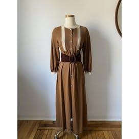 70's Toffee Colored Dress