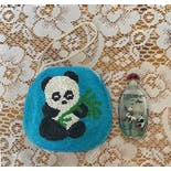 another view of Beaded Panda Change Purse