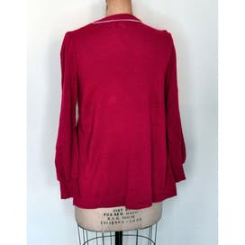 70's Red Babydoll Sweater