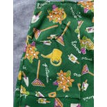 another view of 70's Novelty Print Gardening Skort