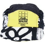 90's Black and White Hat with Yellow The Super Show Graphic