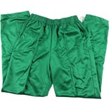 80's Green Men's Athletic Pants with White Side Stripe by Brute
