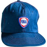 Denim Baseball Snapback with Patch by Fina