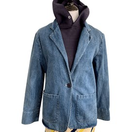 Blue Denim Blazer byPacific Express