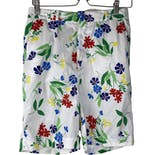 Colorful Floral Long Shorts