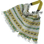 another view of Fringed Beaded Handbag