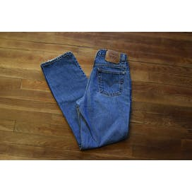 90's Blue High Waist Mom Jeans by Levis