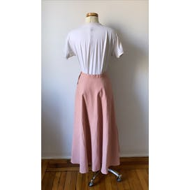 Pink Circle Skirt by Ralph Lauren