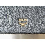 another view of 80's Dark Navy Blue Milla Long Wallet by MCM