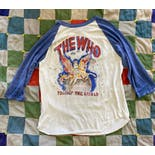 another view of 70's Blue and White The Who Tour T-Shirt