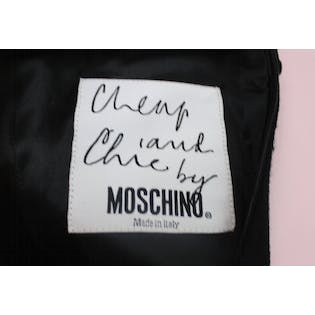 90's Half and Half Dress by Moschino Cheap & Chic