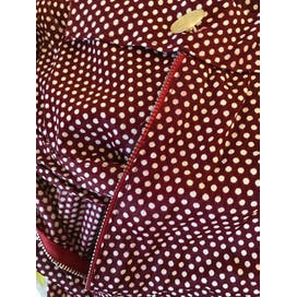 70's Red and White Polka Dot Wrap Top and Palazzo Pants