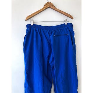 80's Blue Ombré Color Block Two Piece Athletic Tracksuit Set by Beverly Hills Polo Club