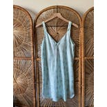 another view of 90's Mint Mini Slip Dress by Morgan Taylor Intimates