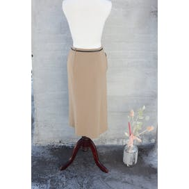 Camel Midi Skirt by Max Mara