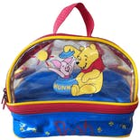 90's Clear Winnie the Pooh and Piglet Top Handle Purse by Disney