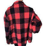 another view of 80's Buffalo Plaid Wool Jacket by Woolrich