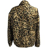 another view of Cheetah Print Zip Up Windbreaker by Coaco