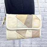 another view of Leather Paneled Crossbody Bag