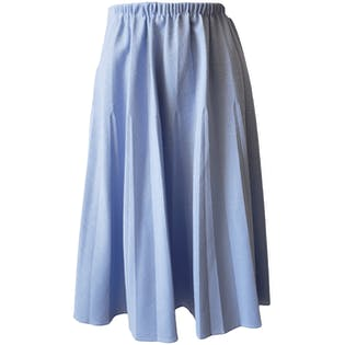 Light Blue Textured Skirt (Part of Set)