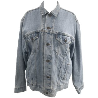 Light Wash Cotton Denim Jacket by Levi's