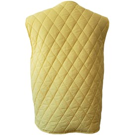 Light Yellow Quilted Down Vest by Weekend Max Mara