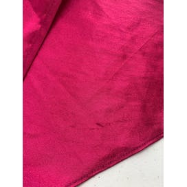 Magenta Sleeveless Silk Dress by La Intimates