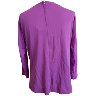 Purple Deadstock Blouse by Alex Colman