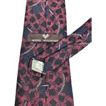 another view of 90's Italian Silk Tie by Mario Valentino