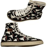 another view of Men's Canvas High Top Sneakers by Marni
