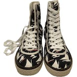 Men's Canvas High Top Sneakers by Marni