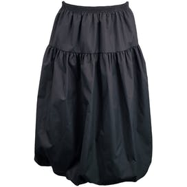 Midi Black Bubble Skirt Deadstock by Koret
