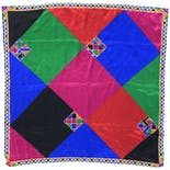 Multicolor Jewel Toned Silk Scarf by Liz Claiborne
